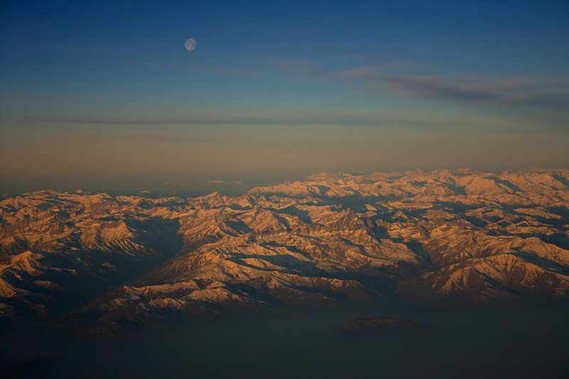 feb 23 9491 moon over alps