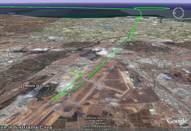 feb 23 valencia landing