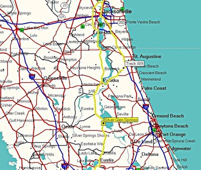 Silver Springs Florida Map.Photo Essays