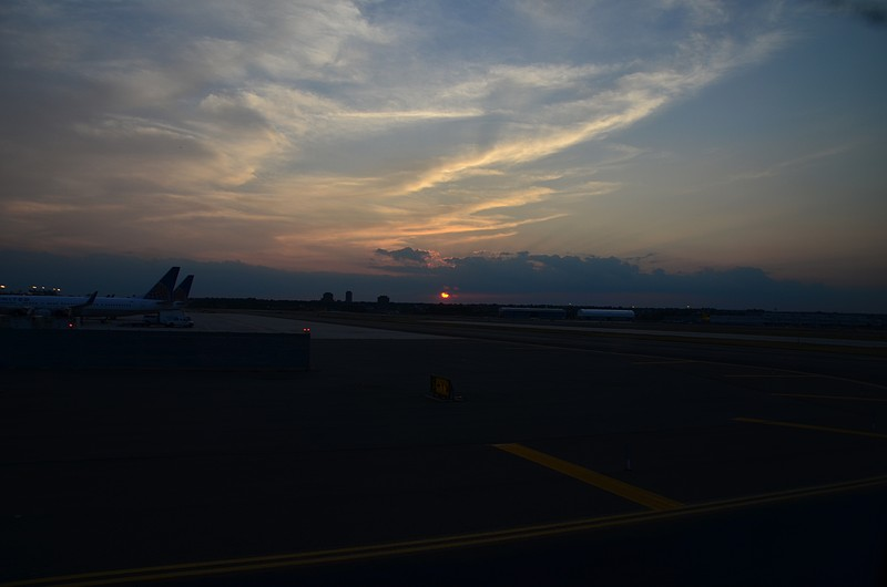 jul 12 7167 ewr sunset