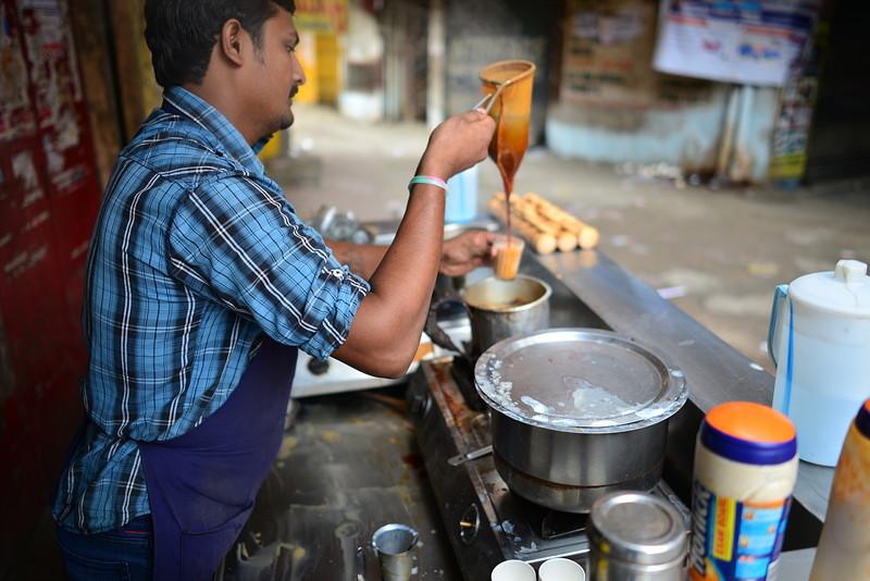 jul 27 2138 makeing tea adding tea