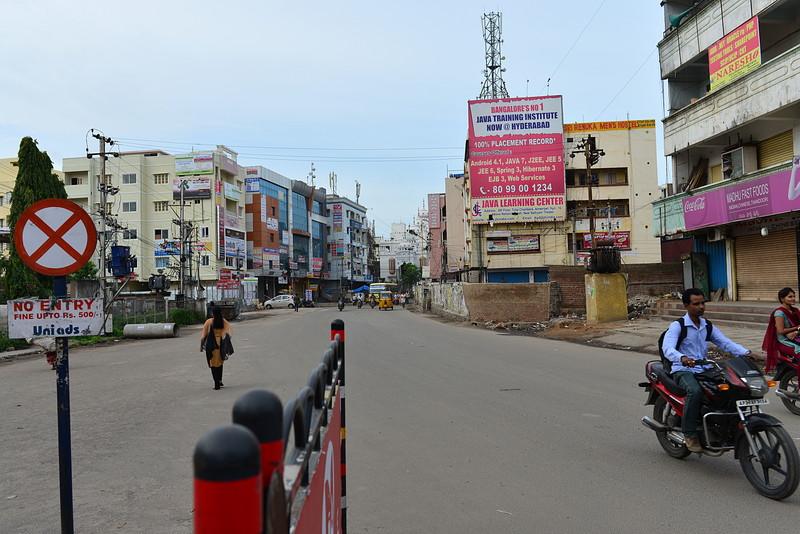 jul 27 2208 empty street