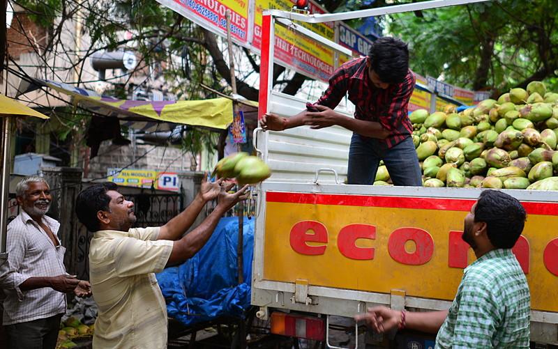 jul 27 2301 unload coconuts