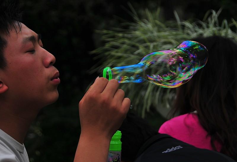 mar 06 9556 blowing bubbles