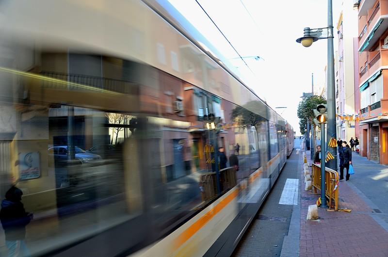 mar 07 7200 tram reflections
