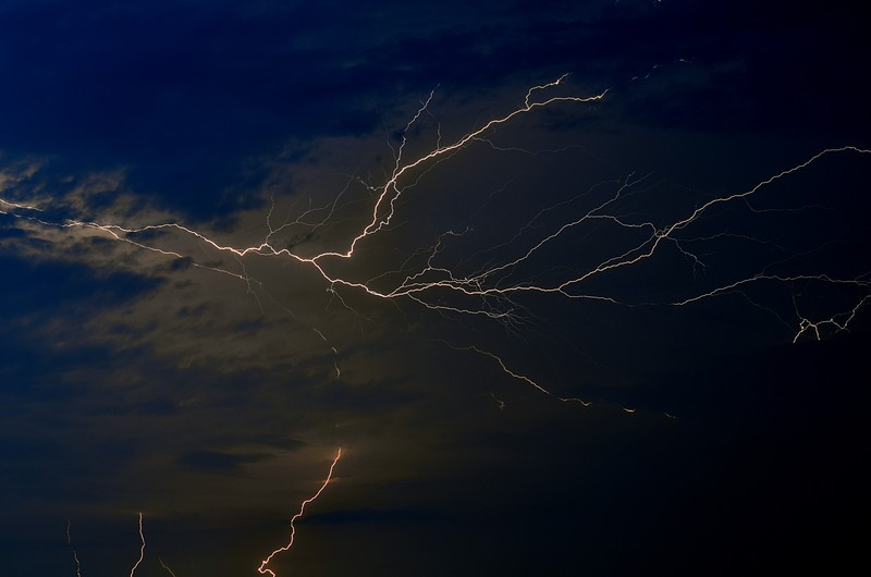 essay lightning Lightning essayslightning is one of the worlds most beautiful phenomenon's  lightning is produced when the friction in the cloud starts to charge parts of the.