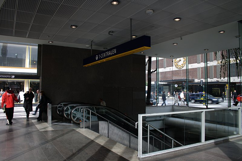 Down to T-Centralen