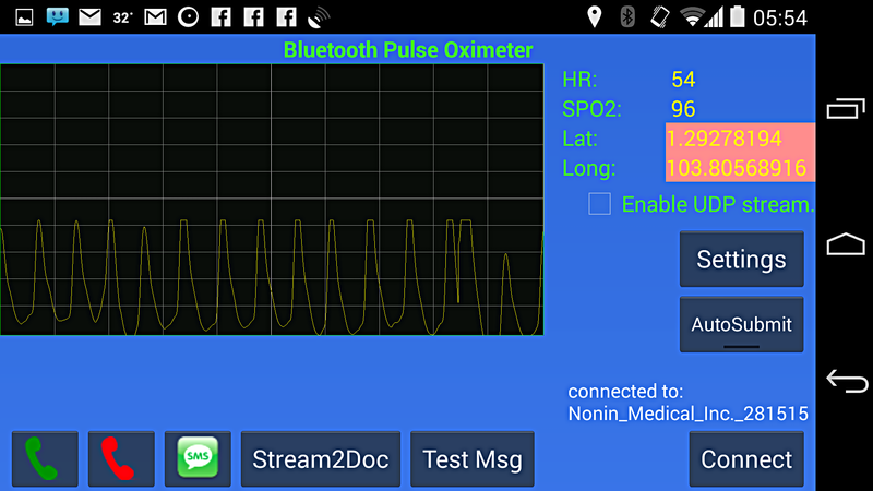 may 24 Nonin Oximeter Android Oximeter App