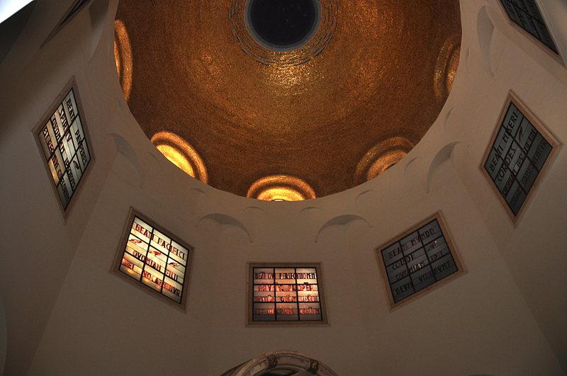 nov 18 1763 beattitudes ceiling