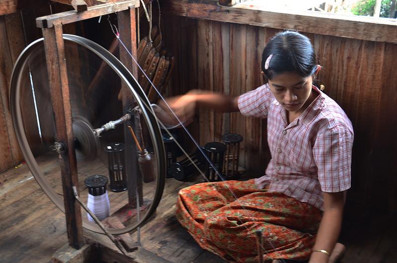 oct 12 1190 spinning silk