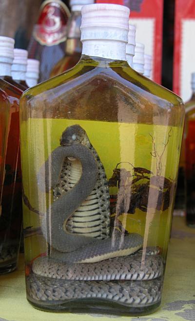 snake whiskey