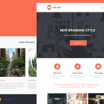 Galaxy – Newsletter PSD Template
