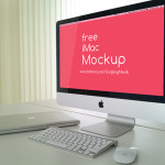 Free PSD iMac Mockup