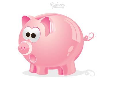 Free Piggy Bank Icon