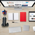 Designer's Desk Essentials Mockup