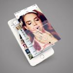 Mobile App Screen PSD Mockup