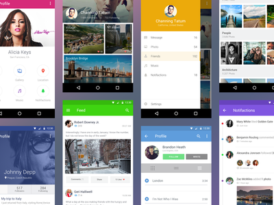 Free Android Material Design UI Kit
