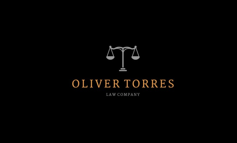 Lawyer, Attorney or Law Firm Vector Logo