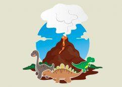 Dinosaurs Vector Illustration