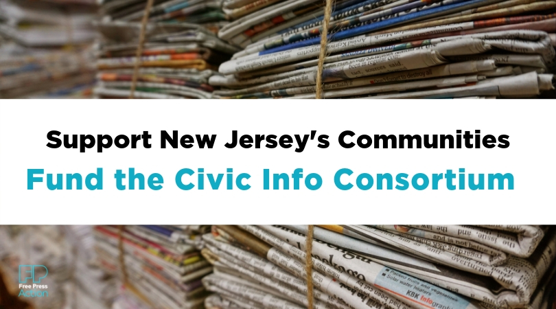 Support New Jersey's communities. Fund the Civic Info Consortium