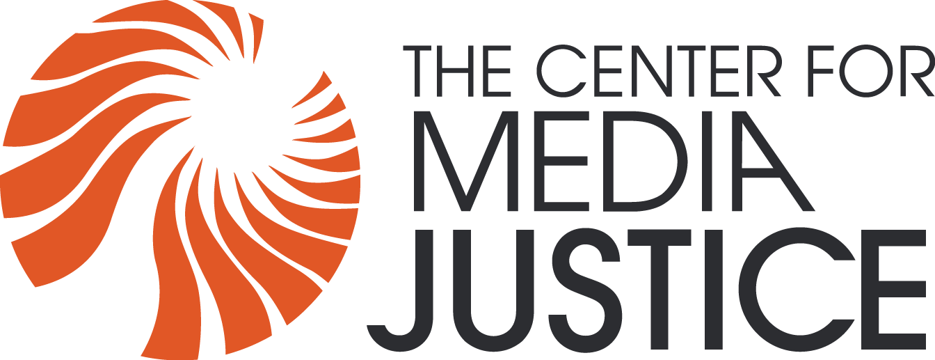 Logo for Center for Media Justice
