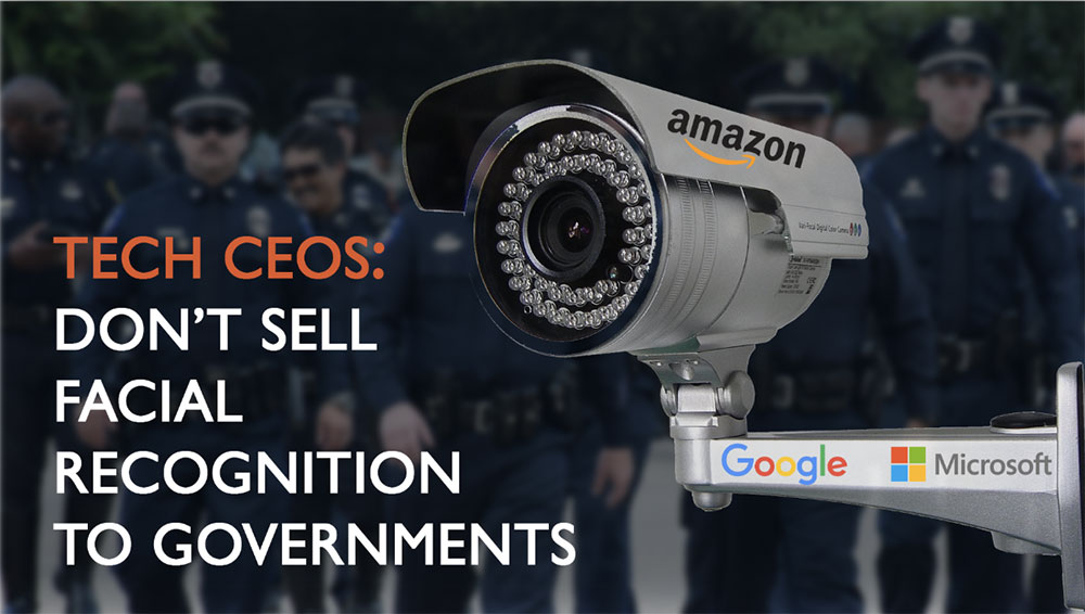 Tech CEOs: Don't Sell Facial Recognition to Governments