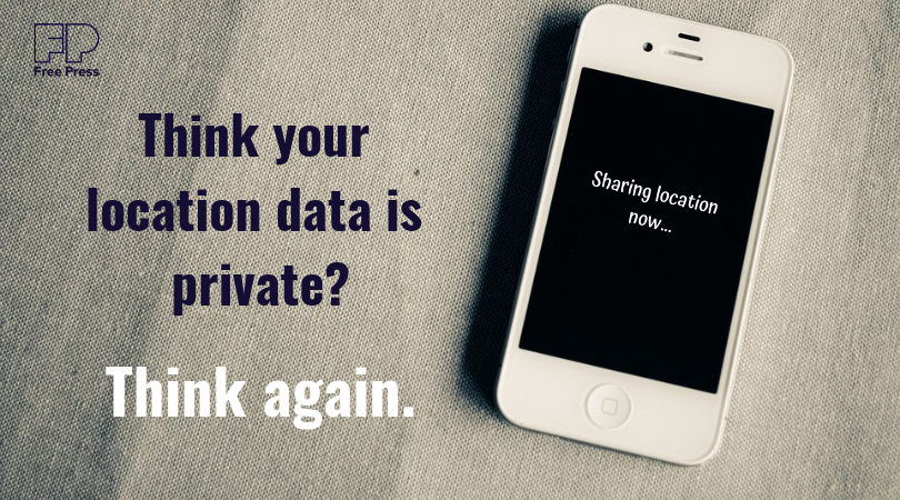 Think your location data is private? Think again.