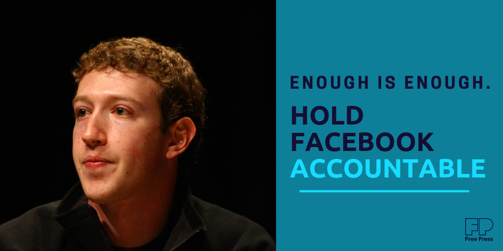 F*@# Facebook: It's Time For Action