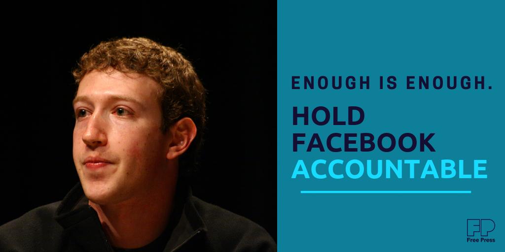 Hold Facebook Accountable