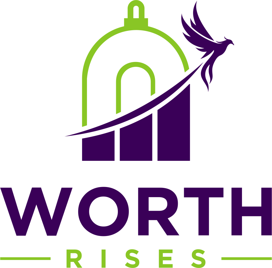 Logo for Worth Rises