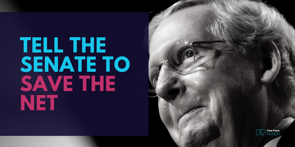 Tell the Senate to Save the Net.