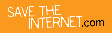 save the internet logo