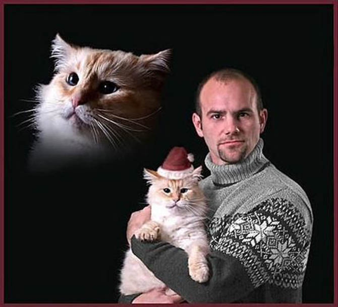 Santa Kitty and Me