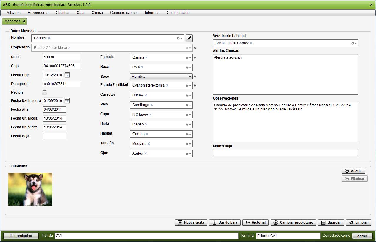 Suficiente Software Veterinario para gestión clínica veterinaria | Galería UL45