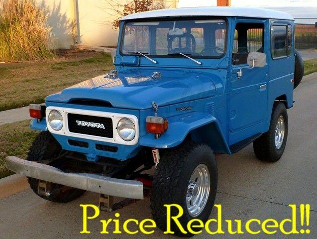 1980 Toyota Land Cruiser for sale in ARLINGTON, TX - $35,350