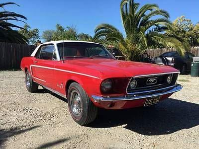 1968 Ford Mustang for sale in Call for Location, MI - $23,995