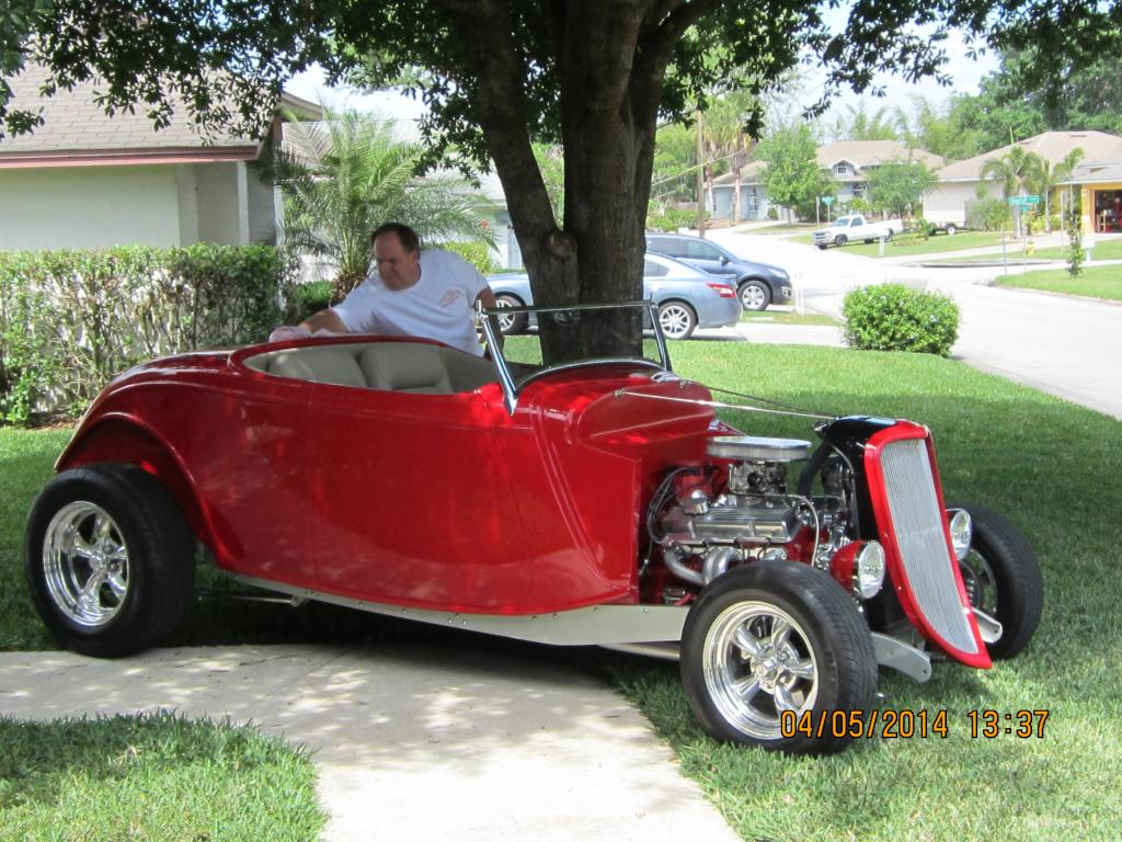1933 Ford Roadster Chopped Hi-Boy Roadster for sale | Hotrodhotline
