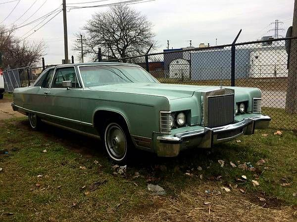 1977 Lincoln Town Car for sale in Call for Location, MI - $8,495