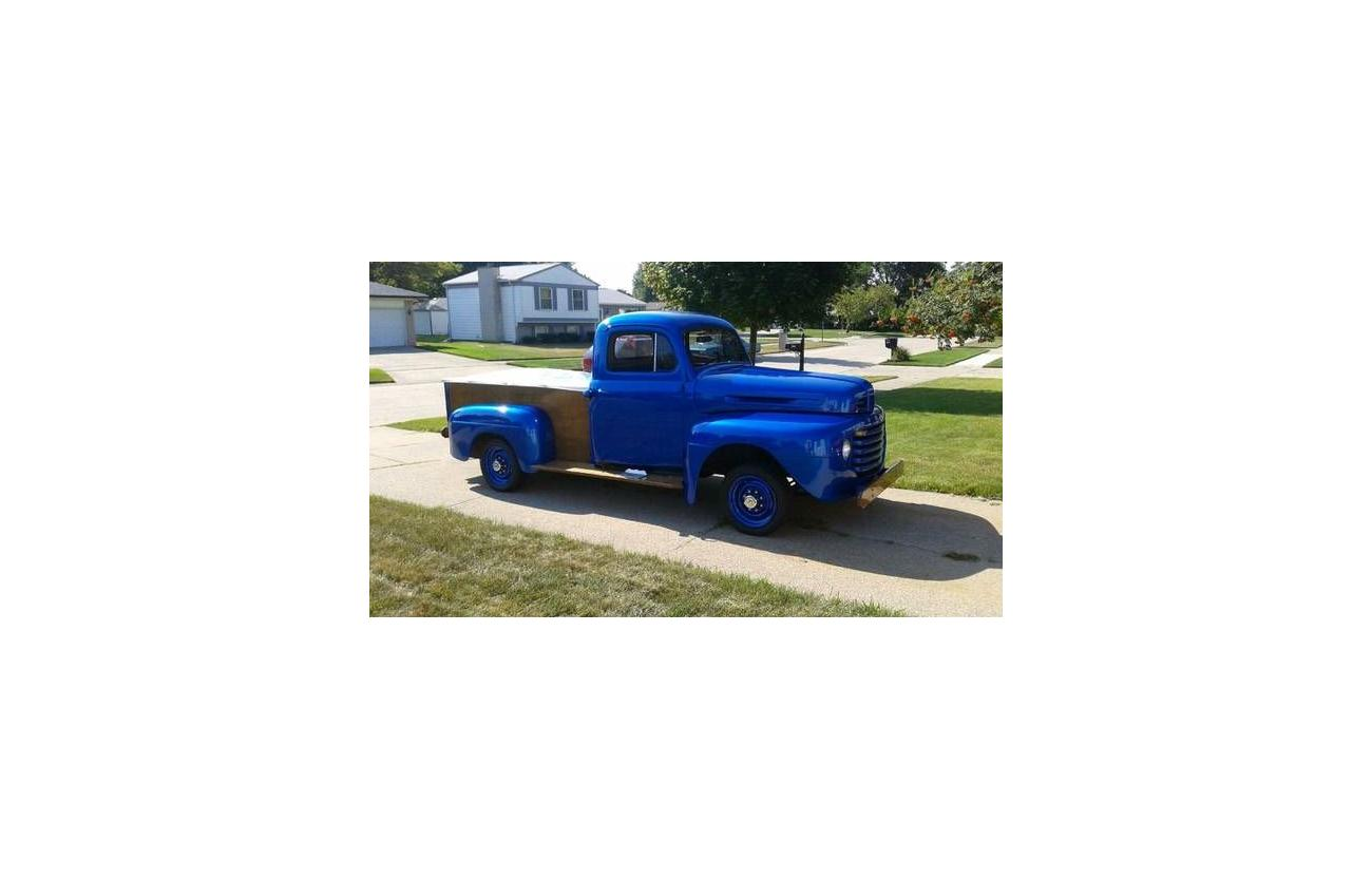 1948 Ford F1 For Sale Hotrodhotline Pickup Truck Image Description