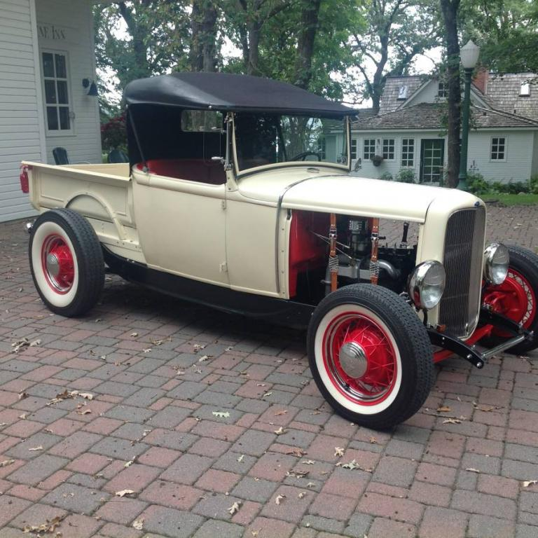 1930 Ford Model A All-Steel Convertible Coupe Hi-Boy Original Pickup ...