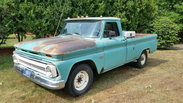 1966 Chevrolet C20 Pickup For Sale In Call For Location Mi 9 195