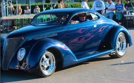 1937 Ford Coupe Chopped Coupe Deluxe V8 for sale in FRESNO, CA - $60,500