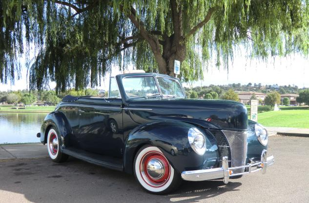 1940 Ford Deluxe All-Steel Convertible Deluxe V8 for sale in PAYSON, AZ -  $65,000
