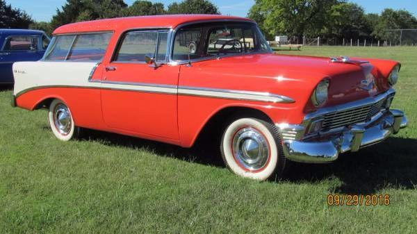 1956 Chevrolet Nomad For Sale In Call For Location Mi 57 995