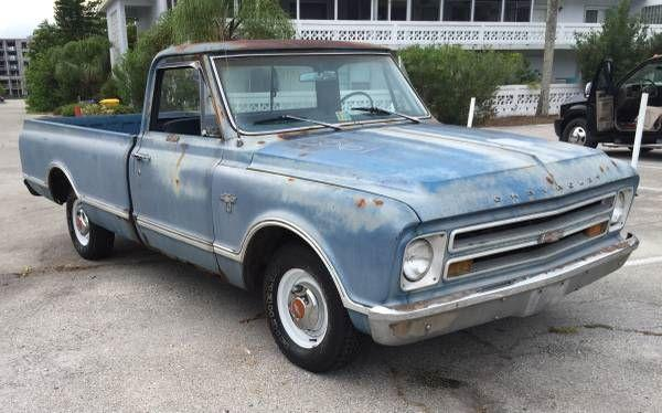 1967 Chevrolet C10 Pickup For Sale In Call For Location Mi 9 495