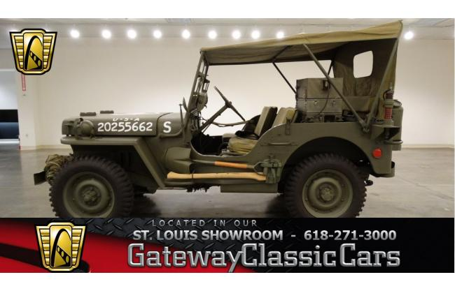 1942 Jeep Willys For Sale Hotrodhotline