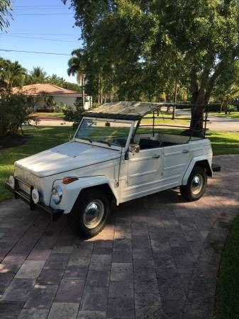 Volkswagen Thing For Sale >> 1973 Volkswagen Thing For Sale Hotrodhotline