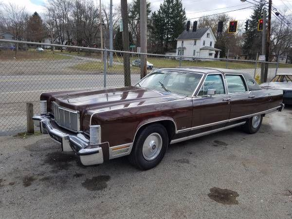1976 Lincoln Continental For Sale Hotrodhotline