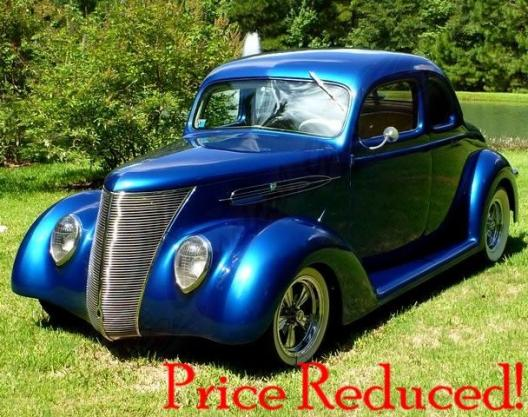 Muscle Cars For Sale >> 1937 Ford Coupe for sale | Hotrodhotline