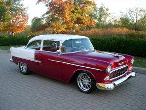 1955 Chevrolet Bel Air For Sale On Hotrodhotline